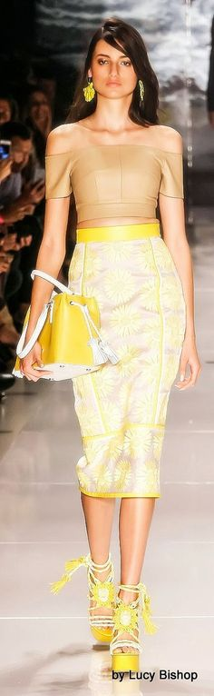 Color fashion Glam / Lucys blog the haute stream...: Colcci Spring Summer 2015 RTW Sao Paulo