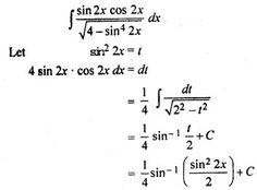 RBSE Solutions for Class 12 Maths Integration Miscellaneous Exercise Class 12 Maths, 12th Maths, Maths Formulas List, Good Morning Texts, Calculus, Mechanika, Integrity, Mathematics, Chemistry
