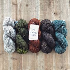 Sweet Fiber Yarns | hand dyed luxury - can't find it to buy, but it looks beautiful!   Good luck finding some available, but would love to try one day. #specialtyyarn #sweetfiberyarns #handdyedyarn