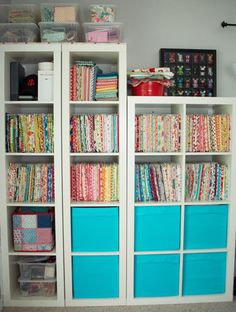 Great way to organize my sewing room...