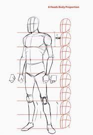 Image Result For 3 4 View Body Desenho Corpo Humano Proporcoes Humanas Desenho Tutorial Corpo