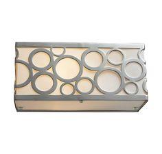 Elk Lighting Retrovia Vanity in Nickel in Wall Lights, Bath Lights: ProgressiveLighting.com