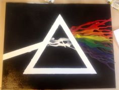 Cool take on the melting crayon art idea! #reddit