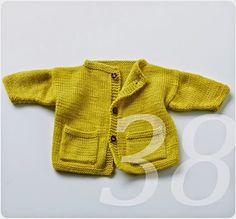 Biologische Wolle natürlich gefärbt eine Kinderjacke
