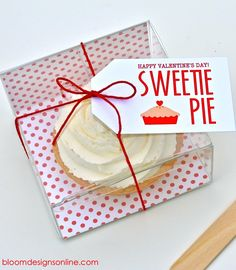 FREE Sweetie Pie Valentine's Tags on { lilluna.com } #valentines