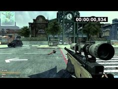 First blood in 0.934 seconds in a game of TDM on Underground in MW3.