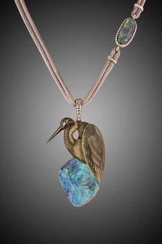 Ilgiz F. Heron pendant