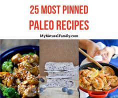 The 25 Most Pinned Paleo Recipes