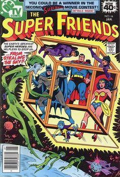 THE SUPER FRIENDS 16 DC COMICS