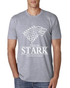 Game of Thrones House Stark Winter Is Coming T-Shirt