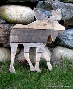 what to do with all those scraps, crafts, repurposing upcycling, woodworking projects, The moose my favorite