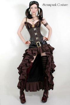 Steam punk....want the skirt