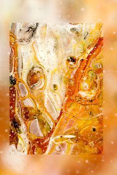 """Exposure 29"", detail #glass #fusedglass #glassart"
