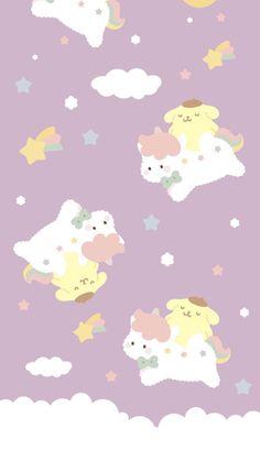 My Melody Wallpaper, Sanrio Wallpaper, Soft Wallpaper, Rainbow Wallpaper, Hello Kitty Wallpaper, Kawaii Wallpaper, Wallpaper Iphone Cute, Aesthetic Iphone Wallpaper, Cartoon Wallpaper
