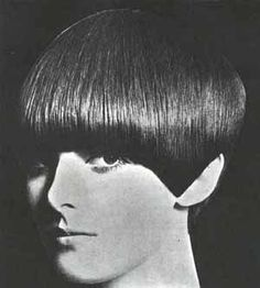 Vidal Sasoon Haircut/ Had this style in the 60's.