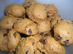 Pumpkin Chocolate Chip Cookies - Easy and fast to make