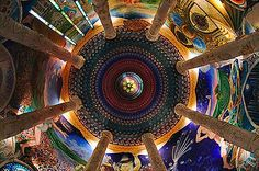 COSMIC MACHINE: Secret temple of Damanhur// magic wonder //
