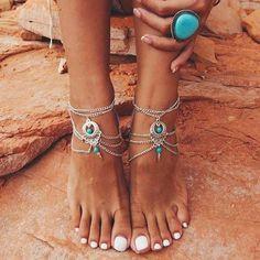 Bracelets pour Cheville - Bohemian Free Spirit