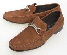 Comfortable genuine suede, in these DONALD J PLINER Danit Brown Washed Driving Loafers!  |  Find yours! http://www.frieschskys.com/footwear  |  #frieschskys #mensfashion #fashion #mensstyle #style #moda #menswear #dapper #stylish #MadeInItaly #Italy #couture #highfashion #designer #shopping