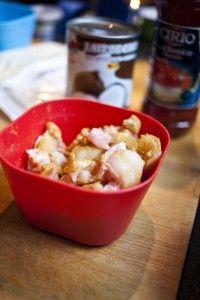 Filet de lapin sauce crémeuse au sumac, façon Korma Photo Anne Demay