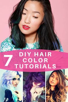 It's time for school again and we're showcasing these DIY hair color tutorials you can do in your own home or college dorm!