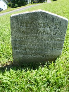 Genealogical Gems: Tombstone Tuesday: Ulysses S Eckman  #genealogy