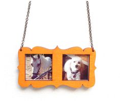 With the world going Instagram crazy, why not take those fun, overfiltered little square photos and wear your favorites around your neck or on...