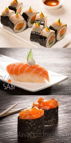 Ресторан Ваби-Саби. Фотосъемка японской кухни. Фуд-стилист и фотограф Слава Поздняков.