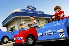 Legoland City Driving School  #DrivingSchool #Legoland, #Florida