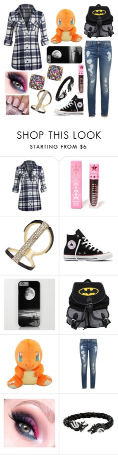 """Ashlee"" by ashleeramme on Polyvore featuring Jeffree Star, Thalia Sodi, Converse, Tommy Hilfiger and Kate Spade"