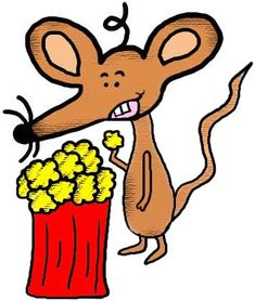 microwave popcorn clipart. mouse with popcorn clipart illustration drawing picture image graphic cartoon microwave