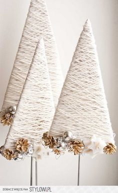 Top 40 moderne Weihnachtsdekoration Ideen - home de-core - Modern Christmas Decor, Diy Christmas Tree, Rustic Christmas, Christmas Projects, All Things Christmas, Winter Christmas, Handmade Christmas, Christmas Holidays, Christmas Decorations
