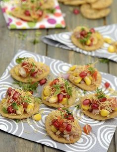 Appetizers and Snack Recipes Indian Appetizers, Indian Snacks, Indian Food Recipes, Wedding Appetizers, Indian Sweets, Healthy Appetizers, Puri Recipes, Snack Recipes, Cooking Recipes