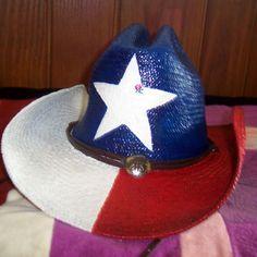 Texas Flag Cowboy Hat