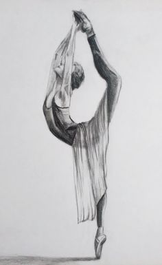 Dark Art Illustrations, Art Drawings Sketches Simple, Pencil Art Drawings, Pretty Drawings, Illustration Art, Ballerina Drawing, Ballet Drawings, Dancing Drawings, Scratchboard Art