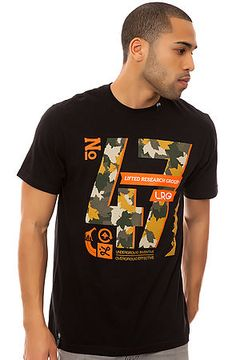 The Core Collection 47 Tee in Black by LRG use rep code: OLIVE for 20% off!