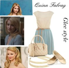 """""""Quinn Fabray"""" by vitoriafurini on Polyvore"""