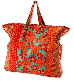 Cinch It Tote Bag - Free Project from All People Quilt