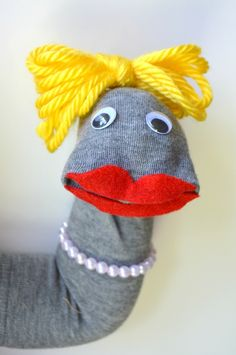 Make this adorable sock puppet in just 10 minutes!