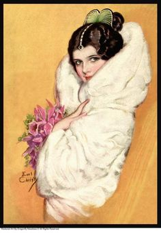 Illustration by F. Earl Christy (1882-1961) Philadelphia and New York based commercial illustrator.