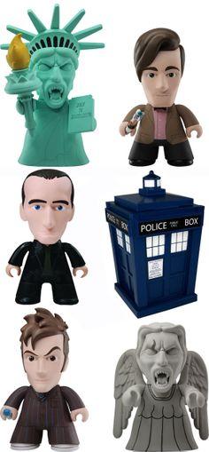 Titan 6.5″ Doctor Who Vinyl Figures. AHHHHHHHHHHHHHHH!!! I. MUST. HAS!!!!!