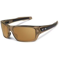0f98d67f80 Oakley Mens Turbine OO926302 Rectangular Sunglasses Brown Smoke 65 mm      You can find