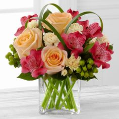 The FTD® All Aglow™ Bouquet by Better Homes and Gardens® - VASE INCLUDED http://www.conroetexasblossomshop.com/product/the-ftd-all-aglow-bouquet-by-better-homes-and-gardens-vase-included/display
