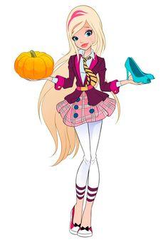 Rose Cenerentola Regal Academy, Art Academy, Cartoon Shows, Cartoon Characters, Walt Disney, Adult Crafts, Girly, Animation Film, Fashion Books