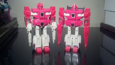 #Transformers: #Cloudraker & #Fastlane. The Autobot clones side by side.