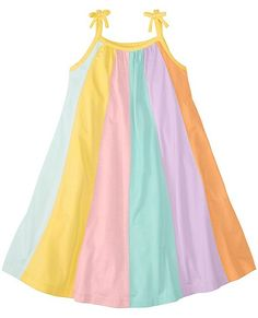 ad9f1eb07b Girls Colorwheel Sundress by Hanna Andersson Little Babies