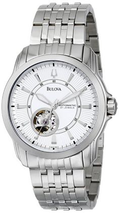 Bulova Men's 96A100 Automatic Self-Winding Mechanical Exhibition Caseback Bracelet Watch Watch Reviews - Product: bulova kinetic List Price: $ 425.00 Today Price: $ 176.13 This price will end soon, Save your money today by purchasing on Amazon.com bulova kinetic With over 100 precisely calibrated working parts, including 21 jewel bearings, the shock-resistant and anti-magnetic Men's Automatic... - http://thequickreview.com/bulova-mens-96a100-automatic-self-winding-mecha