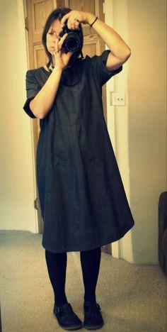 hettie brown merchant and mills shirt dress