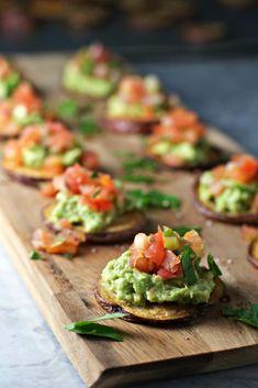 Loaded Potato Bites ~vegan, gluten free~ Secretly healthy snacks for the Super Bowl!