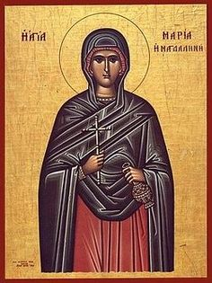 St. Mary Magdalene . July 22/August 4 / OrthoChristian.Com